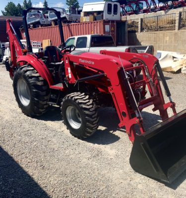 2018 Mahindra 2655 Tractor Front Passanger Side View