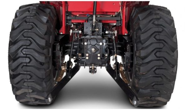 Mahindra 1533 TLB Back Side Up Close View
