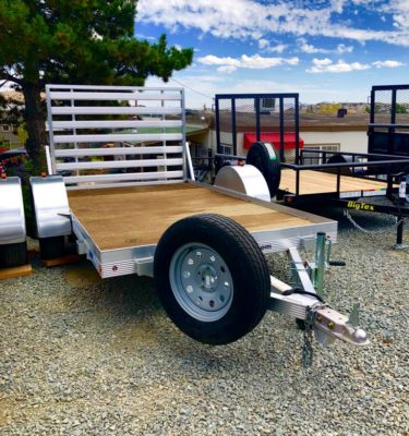 CargoPro 12′ Trailer Front Passanger Side View