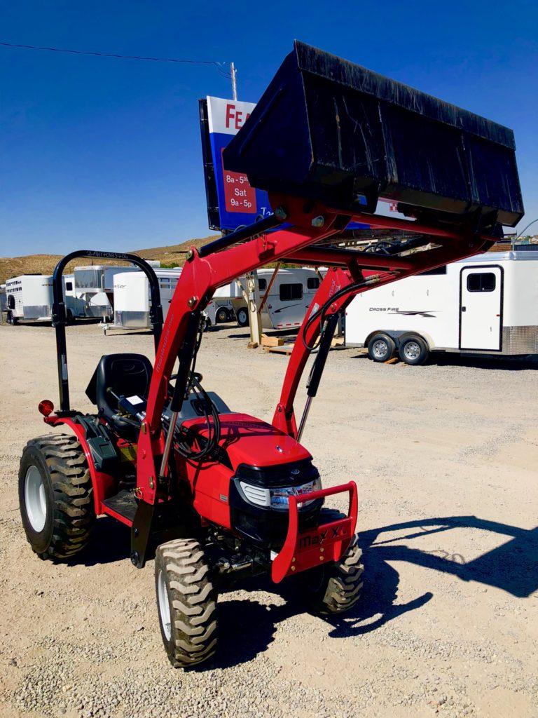 2018 Mahindra Max 26 Xlt Tractor Featherlite Of Reno