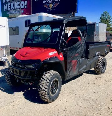 Mahindra Retriever 1000 Front Driverside View