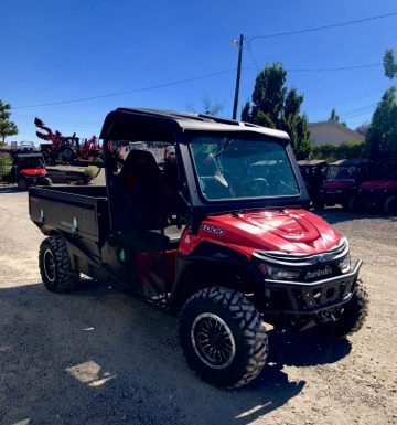 Mahindra Retriever 1000 Front Passanger Side View 2