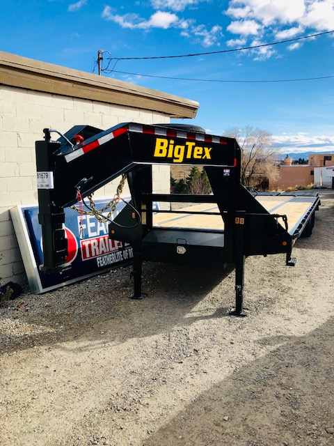 Big Tex 22GN 25+5 Front Driverside View