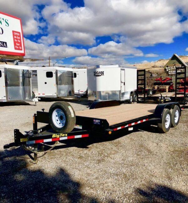 Big Tex 14ET' Equipment Trailer Front Driverside View