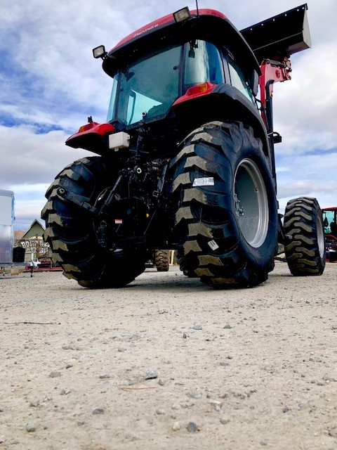 2019 Mahindra 6075 Tractor Back Side View 1