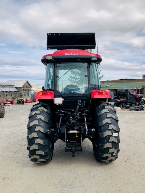 2019 Mahindra 6075 Tractor Back Side View