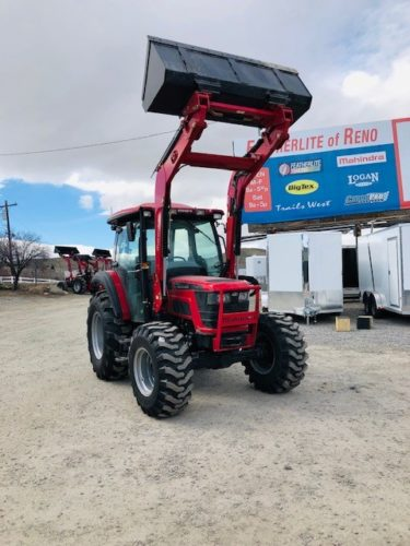 2019 Mahindra 6075 Tractor Front Passanger Side View