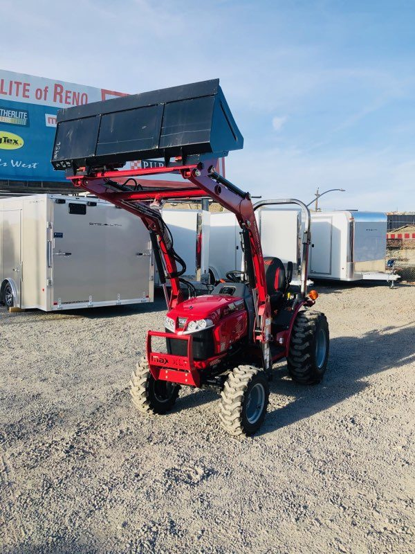 Max 26 Tractor Loader Front Driverside View