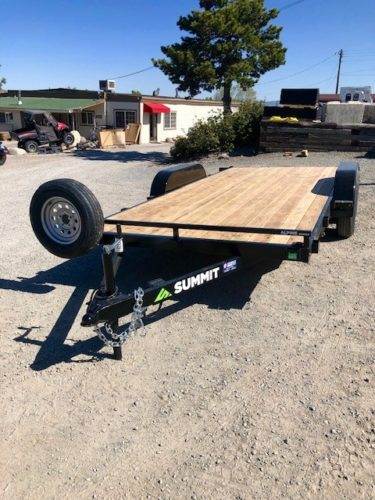 Summit Alpine Trailer Removable Fenders Front Driverside View