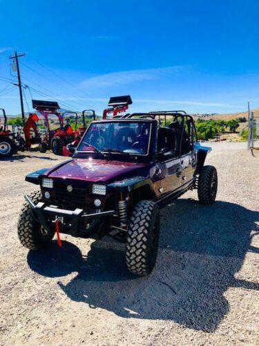 2019 Rebel West X4 UTV Front Driverside View
