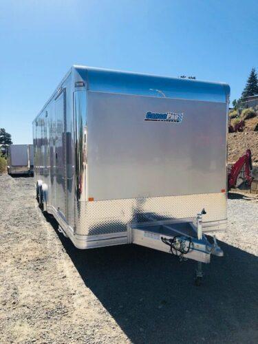 2020 Cargo Pro 24' Pinnacle Car Hauler Trailer Front Passanger Side View