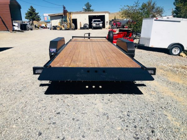 2020 Summit Denali Pro 20' Tilt Trailer Back Side View