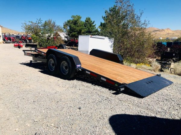 2020 Summit Denali Pro 20' Tilt Trailer Side Driverside Tilt View