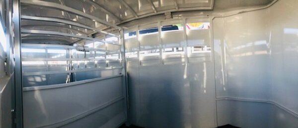 Titan 16′ Classic BP Stock Combo Trailer In Side View