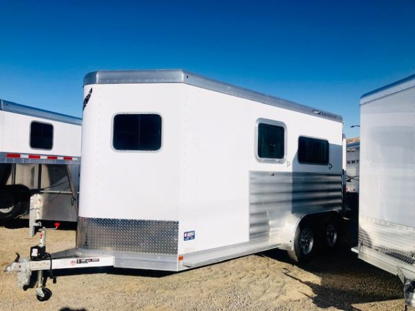 2020 Featherlite 7442 2H Straight Load Trailer Driver Side View