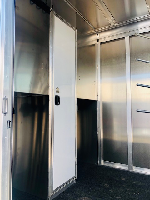 2020 Featherlite 7442 2H Straight Load Trailer Inside Tac Room View 2