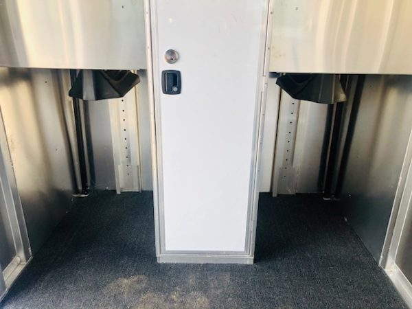 2020 Featherlite 7442 2H Straight Load Trailer Inside Tac Room View 3