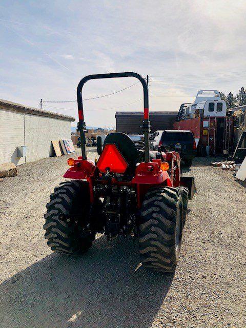 1635 Tractor Loader Back Side View