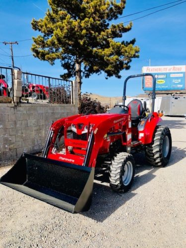 1635 Tractor Loader Front Driverside View