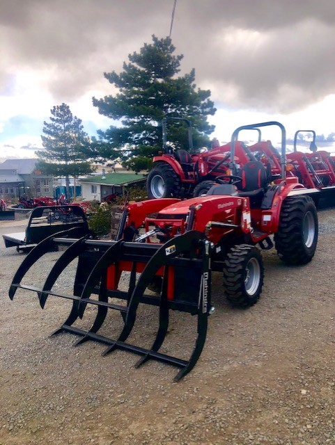 2020 Mahindra 2638 TL Grapple Front Driver Side View