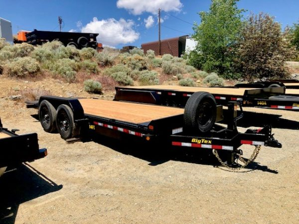 Big Tex 14FT-18′ Trailer Front Passanger Side View